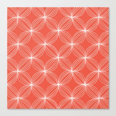 Star Pods - Coral Canvas Print