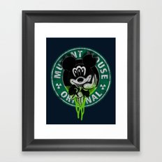 Mutant Mouse Framed Art Print