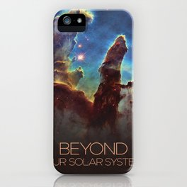 Solar System and Beyond: The Pillars of Creation iPhone Case