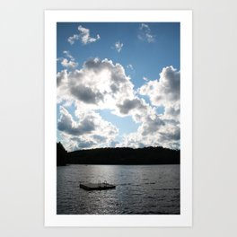 Harp Lake Art Print