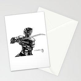 Inktober: Sword Stationery Cards