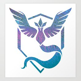 Rad Team Mystic Art Print