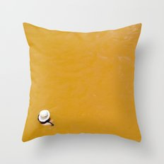 Banos Morales, Chile Throw Pillow