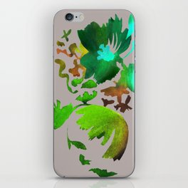 Dark Flora iPhone Skin