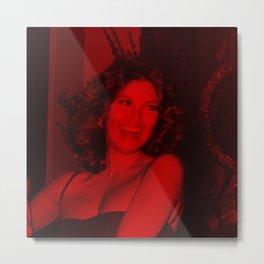 Raquel Welch - Celebrity (Photographic Art) Metal Print