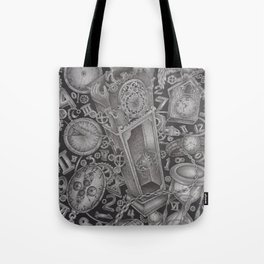 waste of time Tote Bag