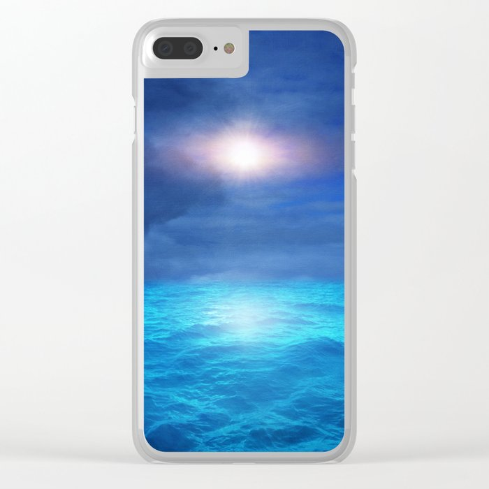 Out to Sea Clear iPhone Case