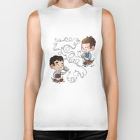 glee Biker Tanks featuring The Sound Of Love by Sunshunes