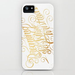 Dreaming of a White Christmas iPhone Case
