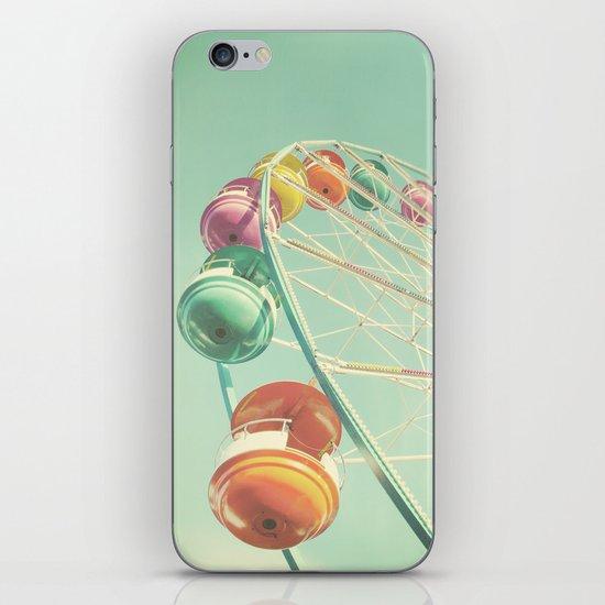 Rainbow Wheel iPhone & iPod Skin