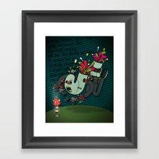 Daisy, Daisy! Framed Art Print