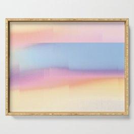 Pastel Horizon Serving Tray