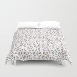 Cute Dungeons and Dragons Pattern Duvet Cover