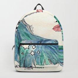 Aqua Portrait Backpack