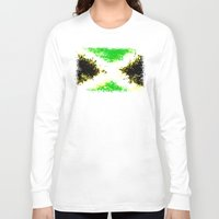 jamaica Long Sleeve T-shirts featuring Jamaica dream by seb mcnulty