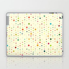 retro rain spots cream Laptop & iPad Skin