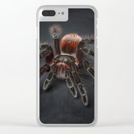 The Scary Spider Clear iPhone Case
