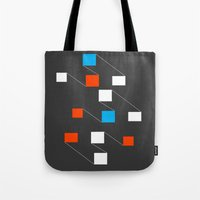 building Tote Bags featuring building by Matt Edward