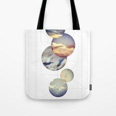 Mobile Sky Tote Bag