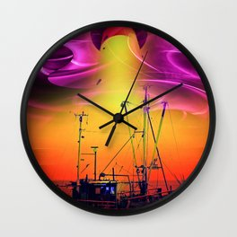 Lighthouse 2 Wall Clock