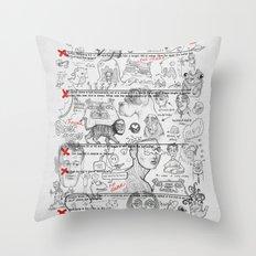 Forgot To Study Throw Pillow