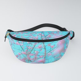 Plum Tree Blossoms Fanny Pack