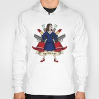 peggy carter Hoodies featuring Fight like a Girl - Peggy Carter by HayPaige