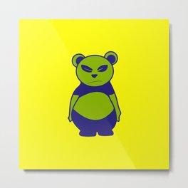 Andy's bear | pop art Metal Print