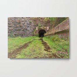 Paw Paw Tunnel Metal Print