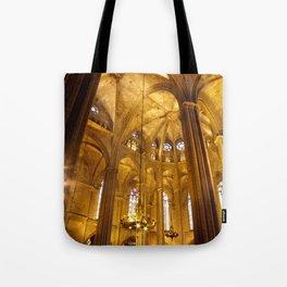 Grandeza Vertical Tote Bag