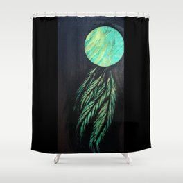 Catching Northern Lights Shower Curtain