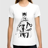 batgirl T-shirts featuring Batgirl by MKilness