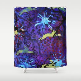 Dreamy nights Shower Curtain