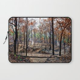 Fire damaged forest Laptop Sleeve