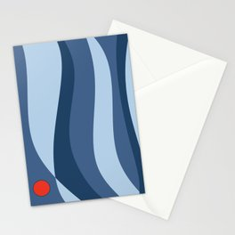 Blue Waves* Stationery Cards