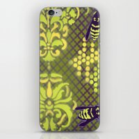 bees iPhone & iPod Skins featuring Bees by Art of Phil Seifritz