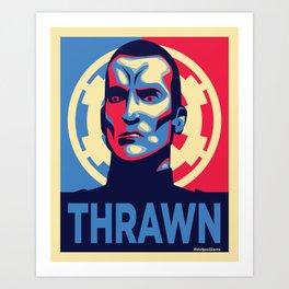 Vote Thrawn Art Print