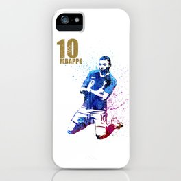 Sports art _ France world cup football 2018 iPhone Case