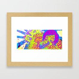 FUCK ART Framed Art Print