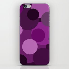 Purple Dots iPhone Skin