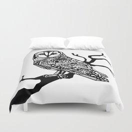 Owl tangle Duvet Cover
