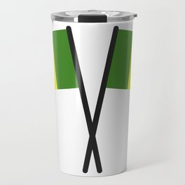 Senegal flag Travel Mug