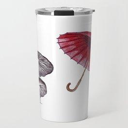 umbrella mushroom Travel Mug