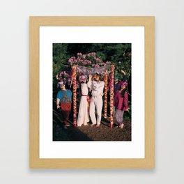 4 of Wands Framed Art Print