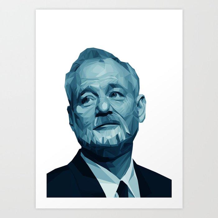 Bill Murray // Lost in Tranglation Art Print