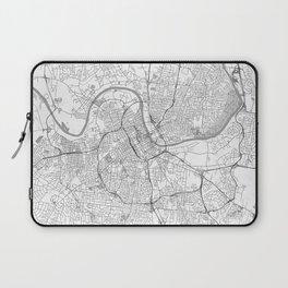 Nashville Map Line Laptop Sleeve