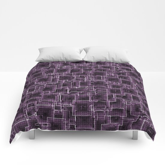 The Maze - Lilac Comforters