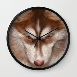 Puppy Dog Tails Wall Clock