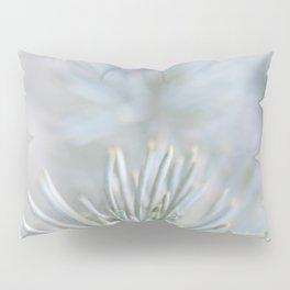 pine needles in blurry green shades Pillow Sham