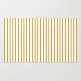 Spicy Mustard Stripes Rug